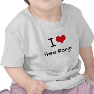 I Love Free Range T-shirts
