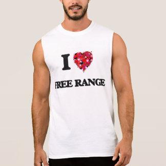 I Love Free Range Sleeveless Tee