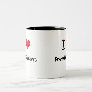 I Love Freethinkers Mugs