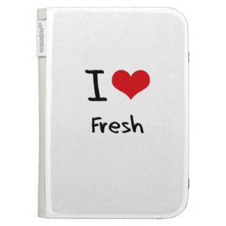 I Love Fresh Kindle 3G Cover