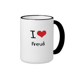I Love Freud Coffee Mugs