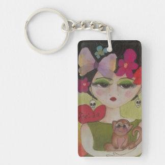 I love Frida Key Ring