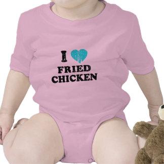 I Love Fried Chicken Bodysuits