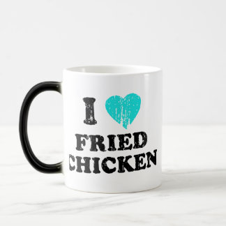 I Love Fried Chicken 11 Oz Magic Heat Color-Changing Coffee Mug