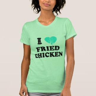 I Love Fried Chicken Tee Shirts