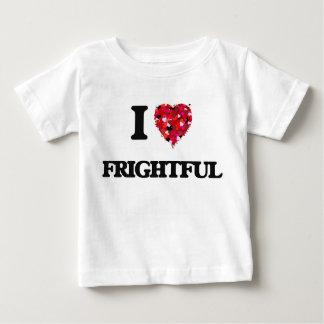 I Love Frightful T Shirt