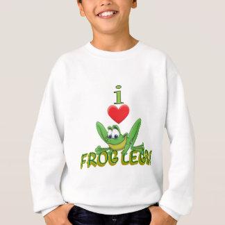 I Love Frog Legs! Sweatshirt
