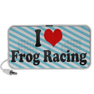 I love Frog Racing Portable Speakers