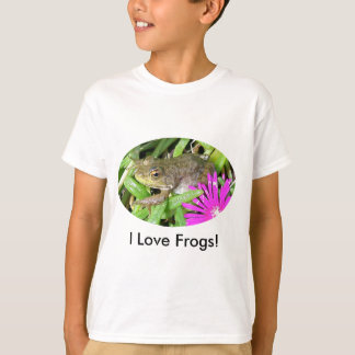 I Love Frogs! Cards, Shirts & Gift Items