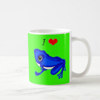 I Love Frogs Coffee Mug