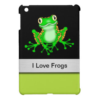 I Love Frogs iPad Mini Case