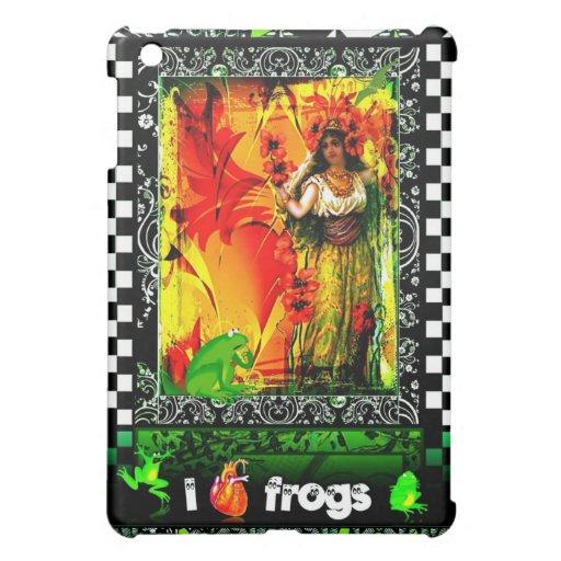 I Love Frogs iPad Mini Covers