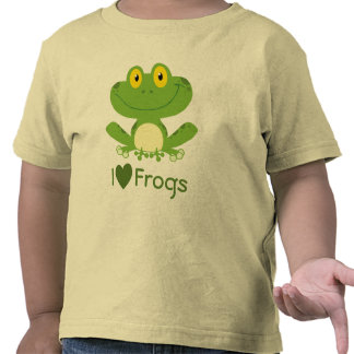 I Love Frogs Shirt