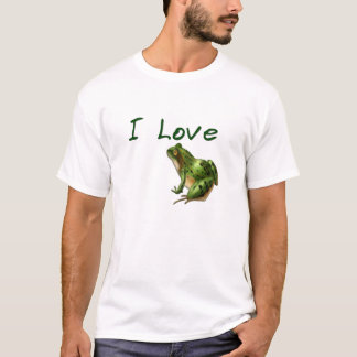 I Love Frogs Tee