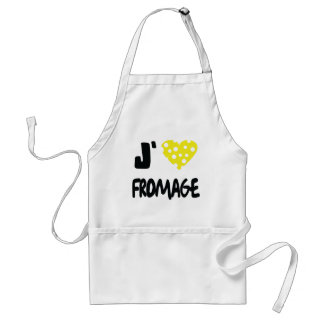 I love fromage icon standard apron
