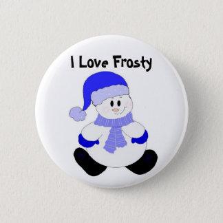 I Love Frosty 6 Cm Round Badge