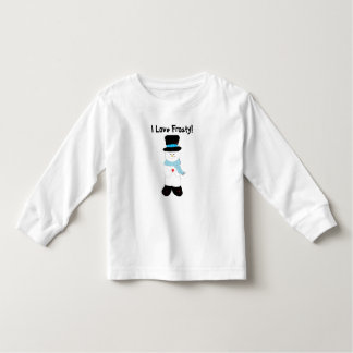 I Love Frosty Toddler T-Shirt