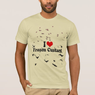 I Love Frozen Custard T-Shirt
