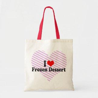 I Love Frozen Dessert Tote Bags