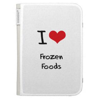 I Love Frozen Foods Kindle 3G Case