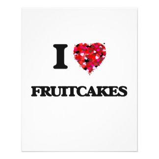 I love Fruitcakes 11.5 Cm X 14 Cm Flyer