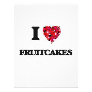 I love Fruitcakes 21.5 Cm X 28 Cm Flyer