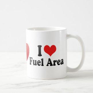 I Love Fuel Area Basic White Mug