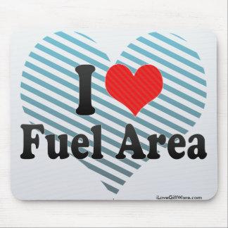I Love Fuel Area Mouse Pad