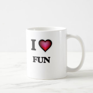 I love Fun Coffee Mug