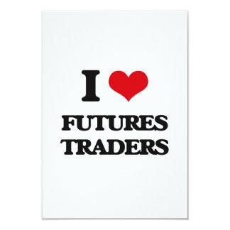 I love Futures Traders Custom Invitation
