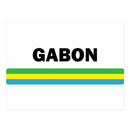 I Love Gabon Postcard