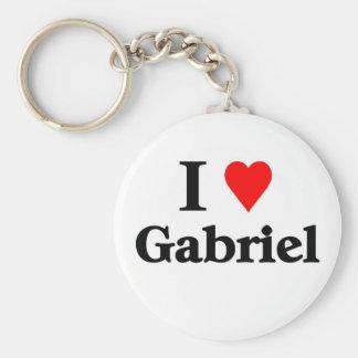 I love Gabriel Key Ring