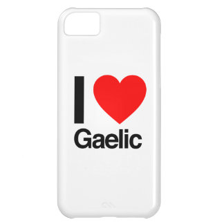 i love gaelic cover for iPhone 5C