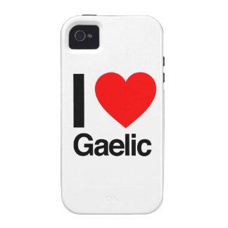 i love gaelic iPhone 4 cover