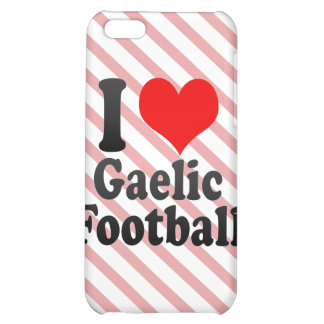 I love Gaelic Football Cover For iPhone 5C
