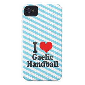 I love Gaelic Handball Case-Mate iPhone 4 Cases