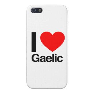 i love gaelic iPhone 5/5S cases