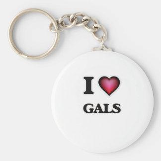 I love Gals Key Ring