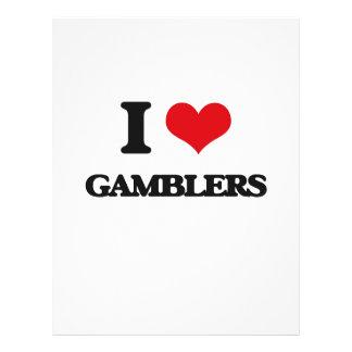 I love Gamblers Flyer Design