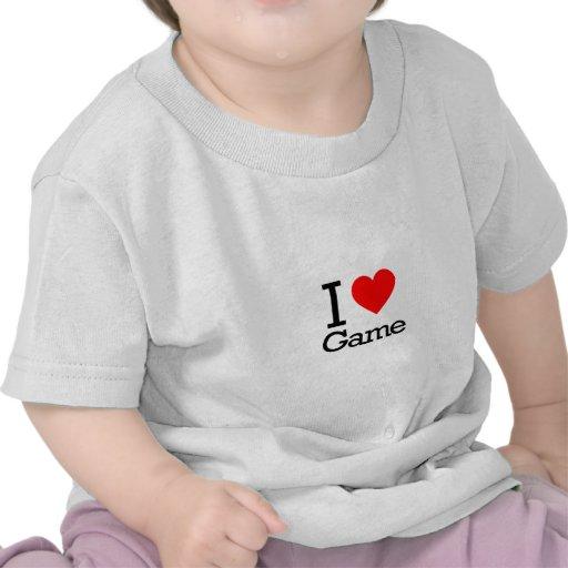I Love Game Shirt