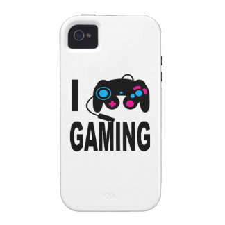 I Love Gaming Vibe iPhone 4 Cover