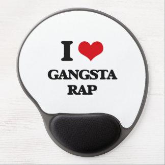 I Love GANGSTA RAP Gel Mouse Mat