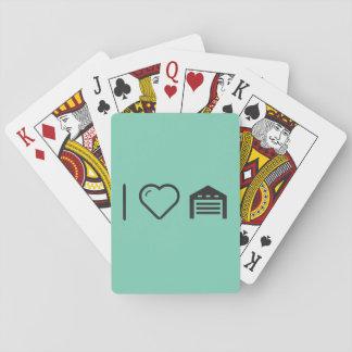 I Love Garage Doors Playing Cards