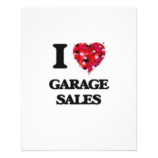 I Love Garage Sales 11.5 Cm X 14 Cm Flyer