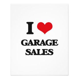 I love Garage Sales Flyer Design