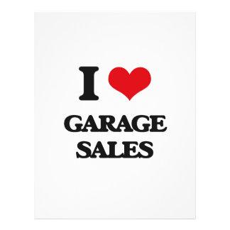 I love Garage Sales Custom Flyer