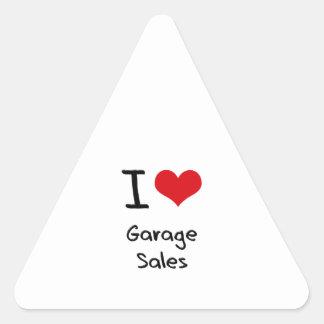 I Love Garage Sales Sticker
