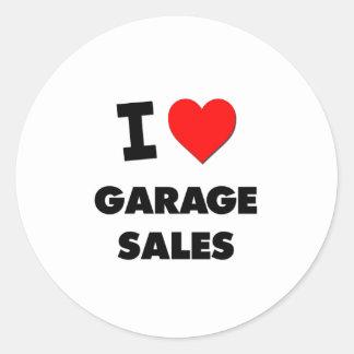 I Love Garage Sales Stickers