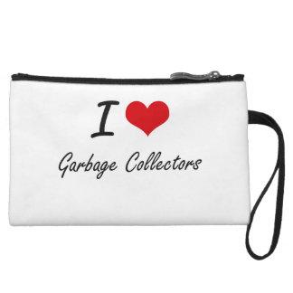 I love Garbage Collectors Wristlet