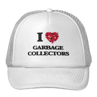 I love Garbage Collectors Cap